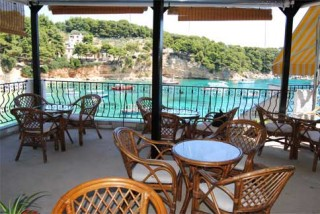 gallery dimitris pension restaurant with sea view