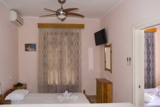 room 8 dimitris pension bedroom