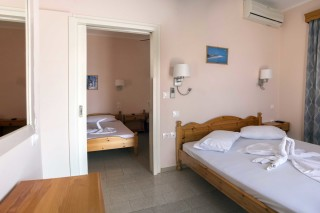 room 8 dimitris pension bedroom area