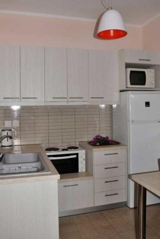 room 8 dimitris pension big kitchen